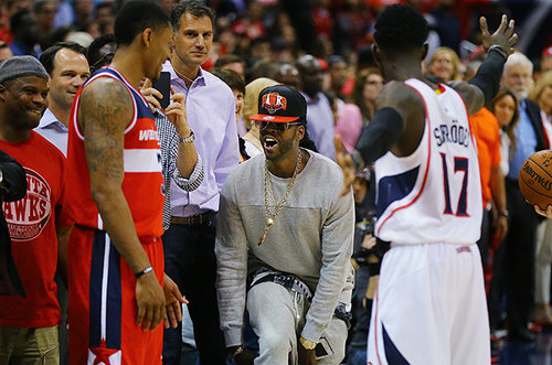 Washington Wizards Blog - 2 Chainz Heckles Bradley Beal