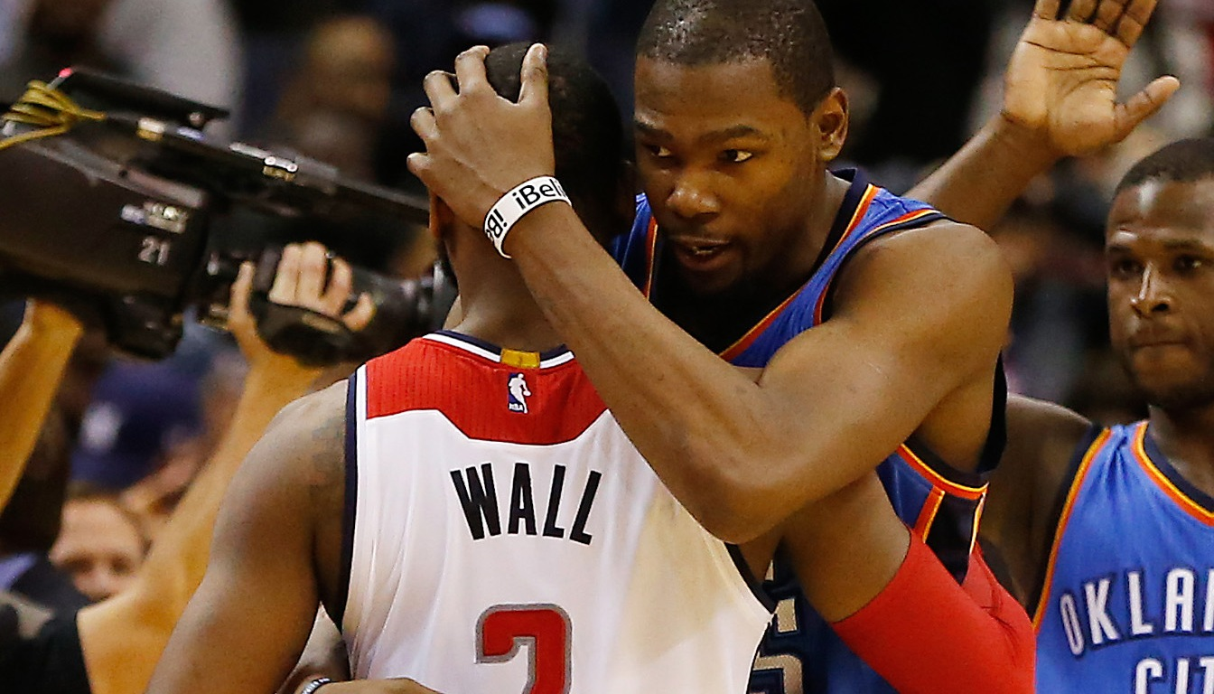 John Wall and Kevin Durant