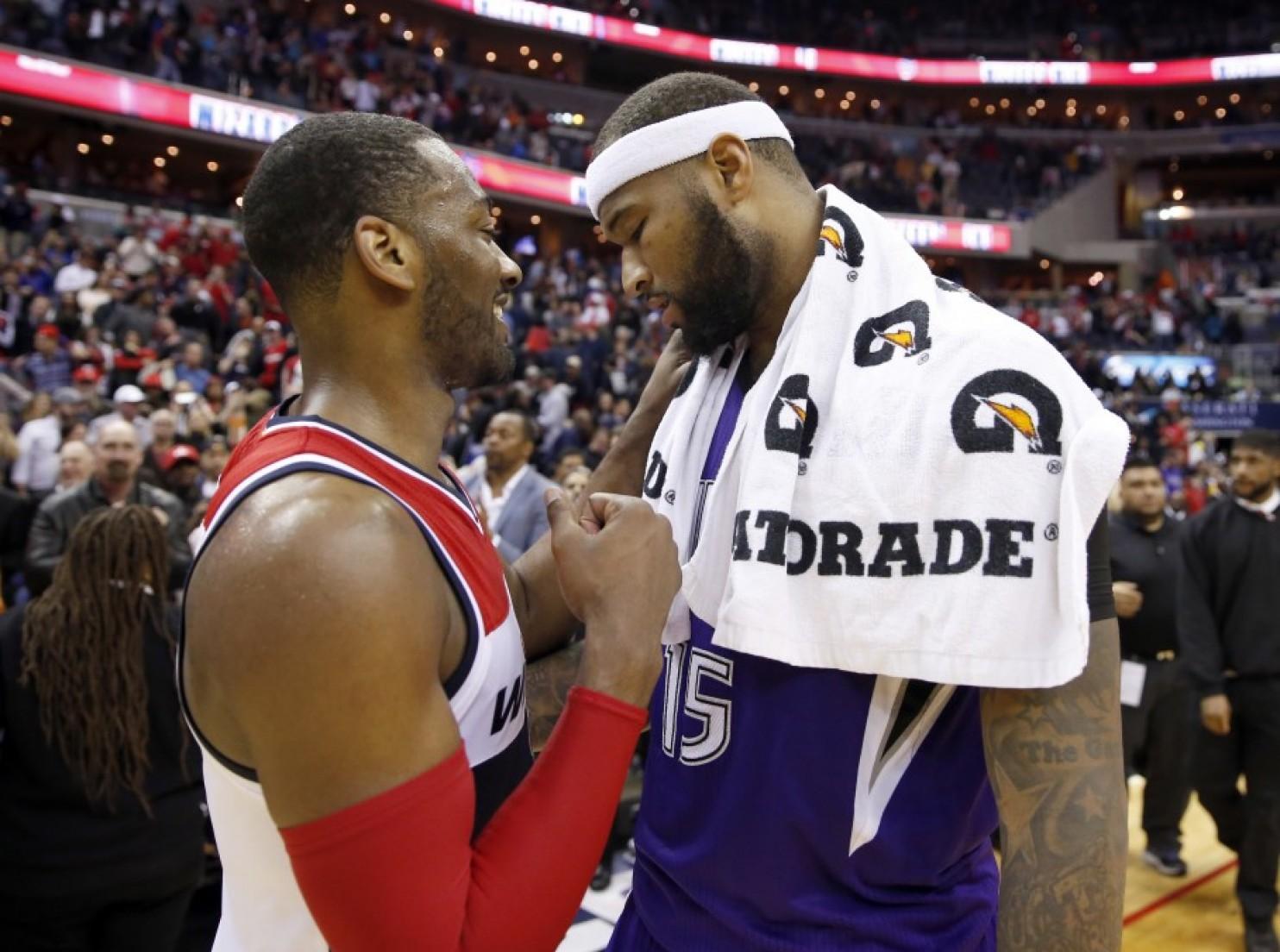 John Wall Demarcus ousins NBA Blog Washington Wizards