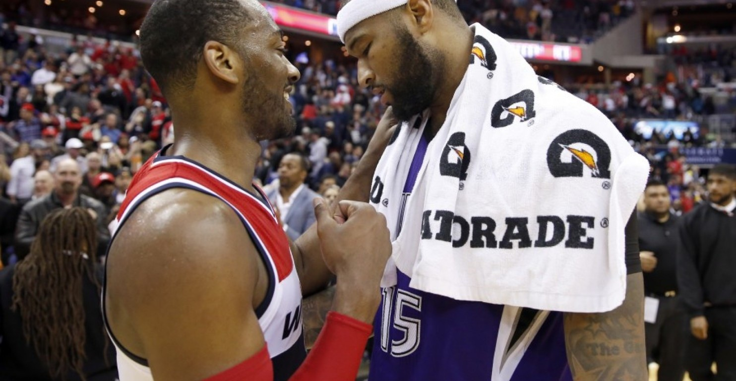 John Wall Demarcus ousins NBA Blog Washington Wizards