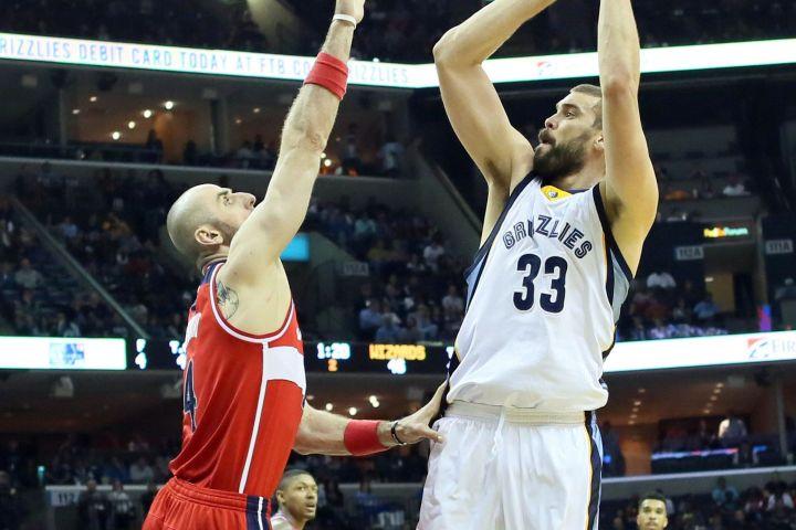 Washington Wizards' Blog - Marcin Gortat vs. Marc Gasol