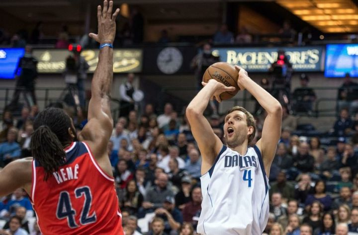 Dirk Nowitzki - Washington Wizards at Dallas Mavericks