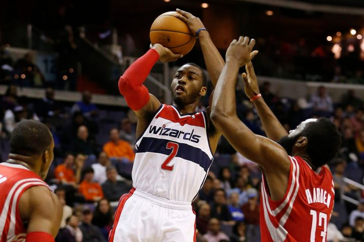 Rockets and Wizards NBA Basketball