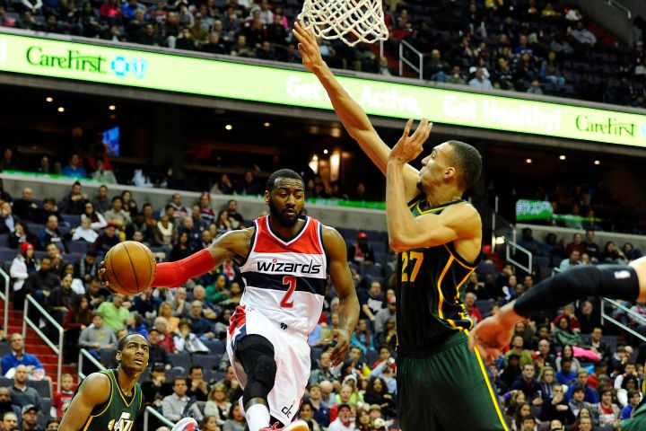 Washington Wizards Blog - Utah Jazz and Rudy Gobert hope for a win at the Verizon Center