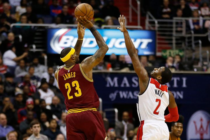 Washington Wizards' Blog - John Wall defends Lebron James