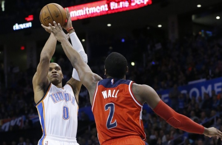 Washington Wizards Blog - John Wall vs. Russell Westbrook