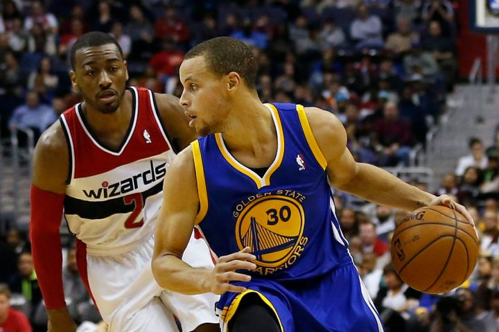 Washington Wizards Blog - Steph Curry vs. John Wall