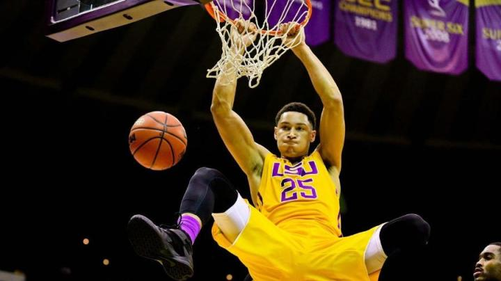 Great Wall of Chinatown - NBA Prospect Ben Simmons dunks