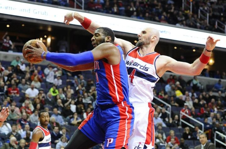 Washington Wizards Blog - Andre Drrummond and the Detroit Pistons come to Washington
