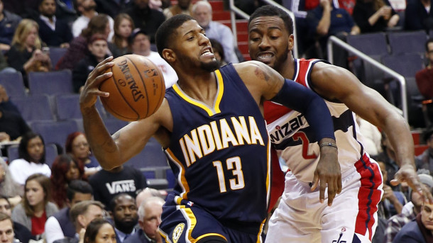 Washington Wizards Blog - Paul George leads the playoff bound Pacers into Verizon Center