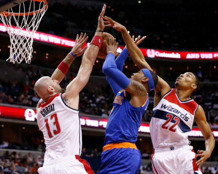 Washington Wizards Blog - Last game before Carmelo joins the Wizards?
