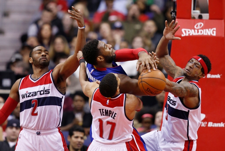 Washington Wizards Blog - Pistons at Wizards
