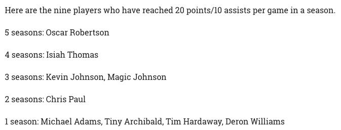 Washington Wizards Blog - 20 and 10 players