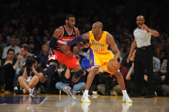 Wizards last game against Kobe Bryant