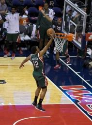 Bucks at Wizards 11/01/14