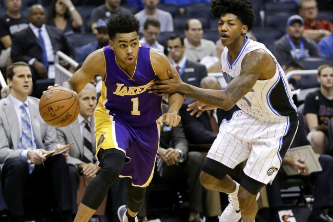 D'Angelo Russell and Elfrid Payton - Washington Wizards Blog