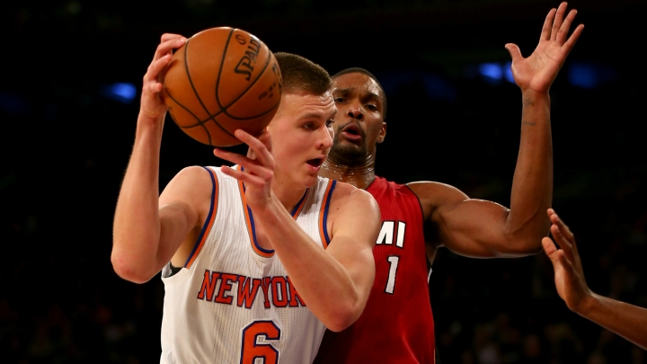 Porzingis held his own against some of the best power forwards in the league, and is maybe the only shining light for Knicks fans.