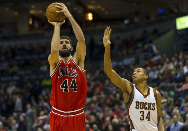 Nikola Mirotic - Chicago Bulls - Great Wall of Chinatown